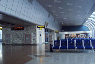 Airport inside