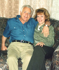 David and Tatiana, May 2003